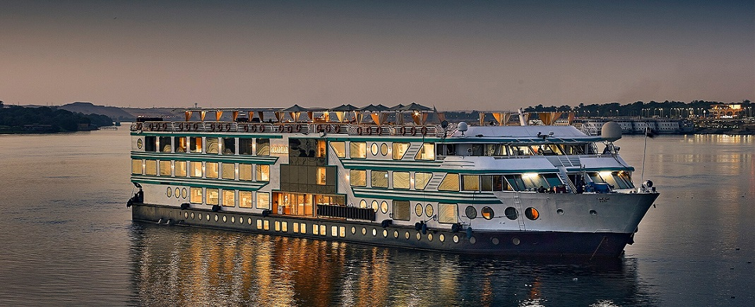 4 Nights / 5 Days Acamar Nile Cruise from Luxor to Aswan