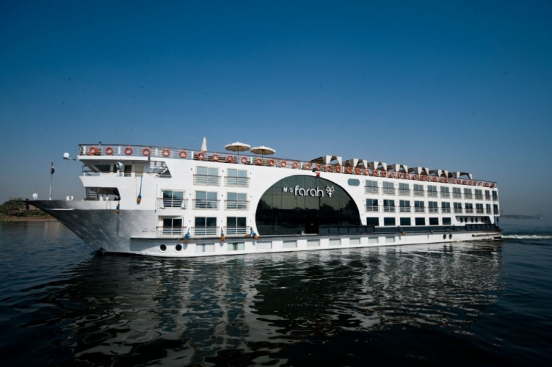 3 Night / 4 Day MS Farah Nile Cruise from Aswan to Luxor