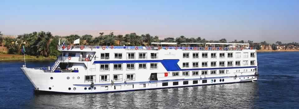 4 Night 5 Day MS Semiramis III Nile Cruise Luxor to Aswan