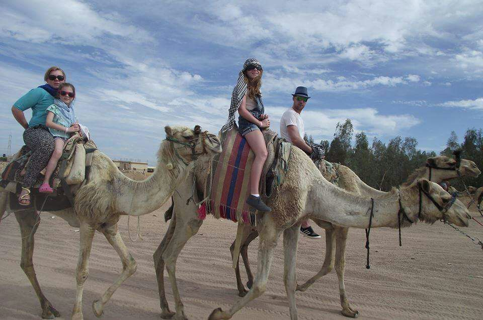 Camel Riding Safari Tour in Sharm El Sheikh Desert
