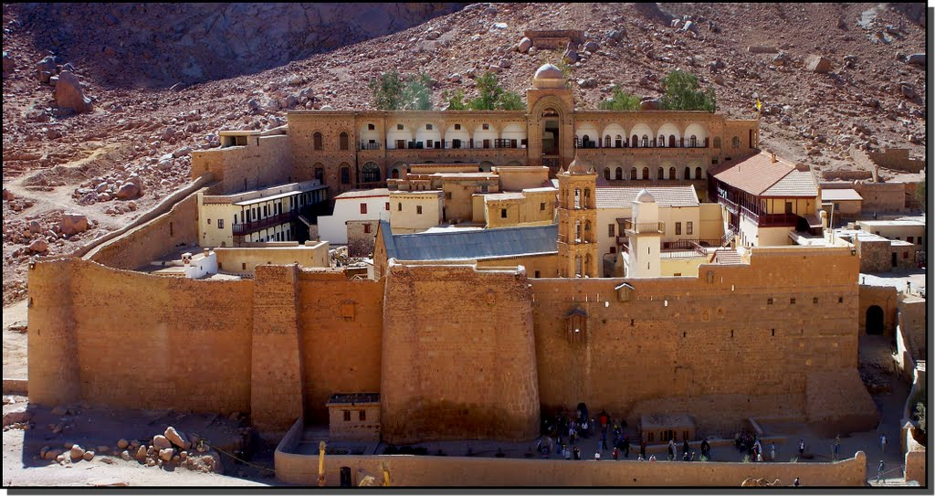 St Catherine's Monastery Guided Tour from Sharm El Sheikh