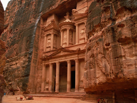 Petra Day Tour from Sharm El Sheikh by Ferry & Bus