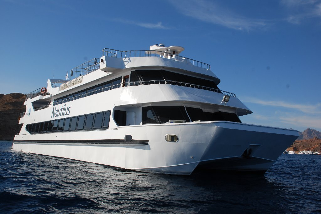 Nautilus VIP Luxury Day Boat Trip from Sharm El Sheikh