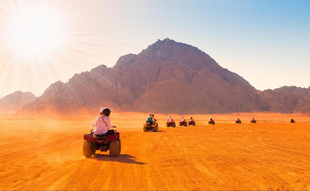 Total Desert Experience 5x1 Tour in Sharm El Sheikh