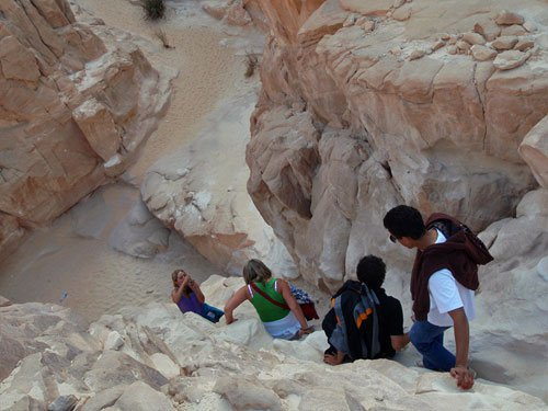 White Canyon & Ain Khudra Oasis Jeep Safari Trip from Sharm El Sheikh