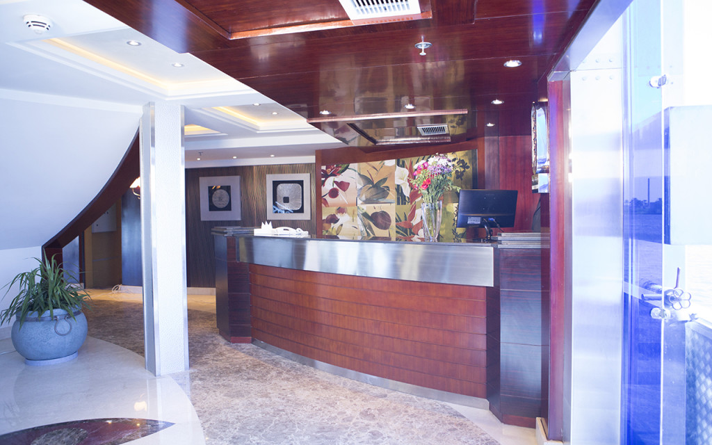 Blue Shadow Nile Cruise - Front Desk