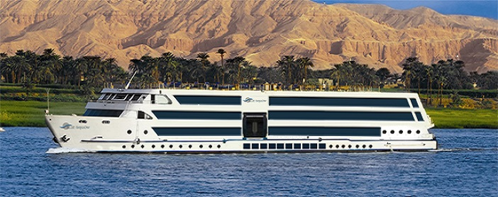 7 Nights / 8 Days Blue Shadow Nile Cruise Luxor - Aswan - Luxor