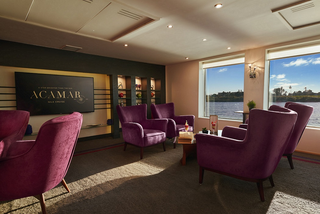 acamar-nile-cruise-lobby-bar