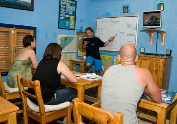 Open water course lecture sharm el sheikh