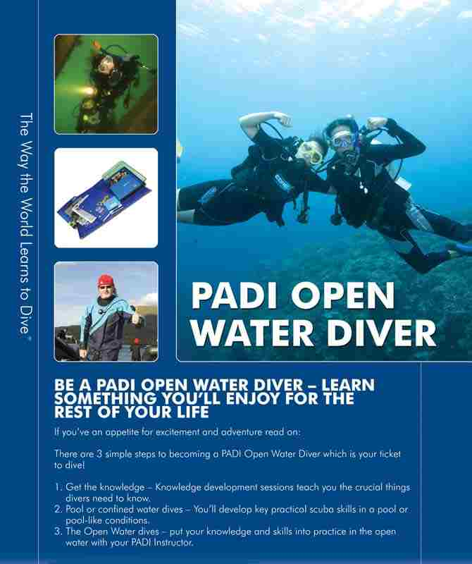 Open water course Padi Sharm El Sheikh