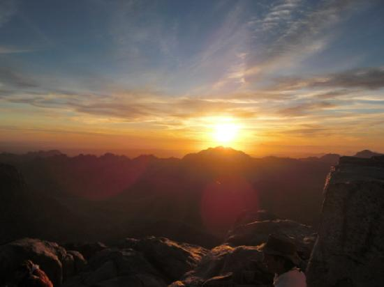 Sun Rise over Mount Sinai