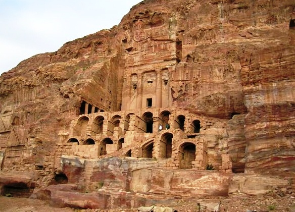 Royal tombs - Petra