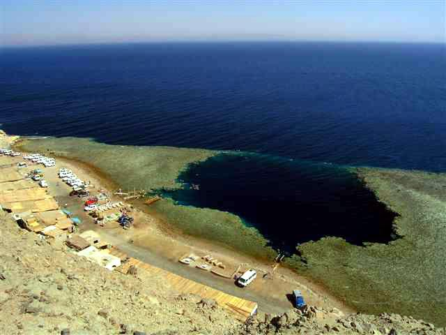 Blue Hole - Abu Galum Protected Area