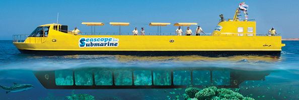 Semi Submarine Trip - Sharm El Sheikh