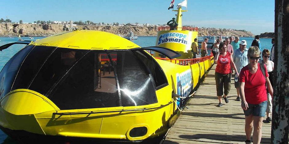 Semi Submarine Excursion - Sharm El Sheikh