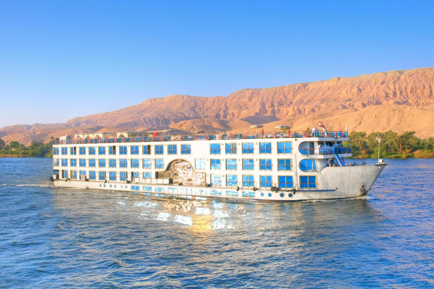 3 Night Amwaj Living Stone Nile Cruise from Aswan to Luxor