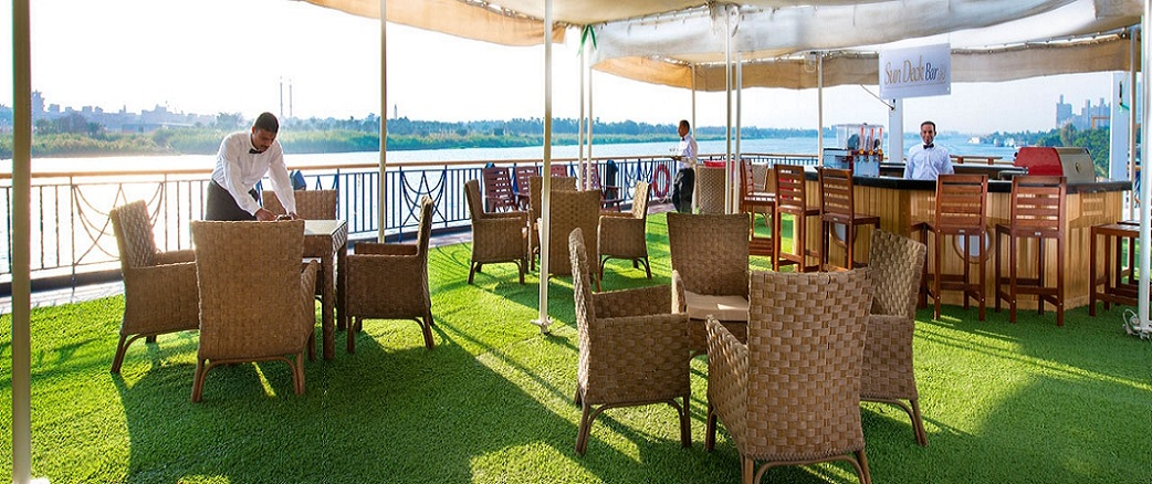 Amwaj Nile Cruise - Sun Deck
