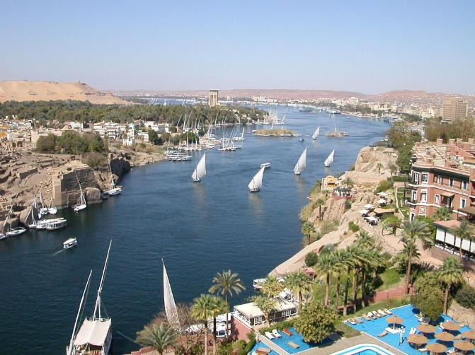 River Nile Egypt .. The Eternal River