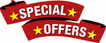 Special Offers and Deals